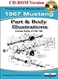 1967 Mustang Part and Body Illustrations