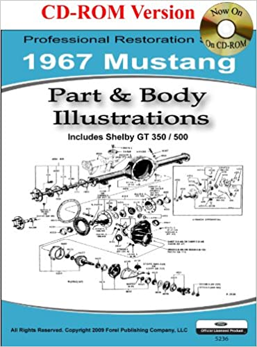[DHAV_9290]  1967 Mustang Part and Body Illustrations: Ford Motor Company, David E.  LeBlanc: 9781603710350: Amazon.com: Books | 1966 Mustang Colorized Wiring Diagram Ford For Sale |  | Amazon.com