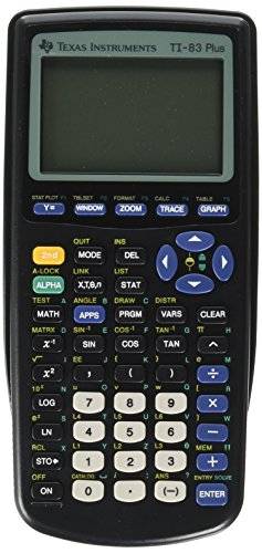 Texas Instruments(R) TI-83 Plus Graphing Calculator by Texas Instruments