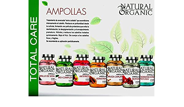 Amazon.com : AMPOLLAS CAPILARES BIOCOMPLEX (24 und de 20 ml C/u) : Beauty