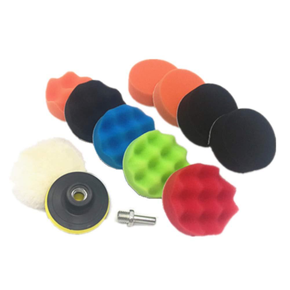 JYHTK - Juego de 12 esponjas de pulir (3/4/5/6/7 pulgadas ...