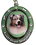 "Australian Shepherd Key Chain ""Spinning Pet Key"
