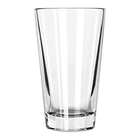 0669471d89b Set of 6 Pint Beer Glass / 16 oz Mixing Glass Libbey 1639HT