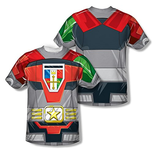 Voltron Defender of the Univese Adult Sublimation Costume T-Shirt (Adult (Voltron Force Costume)