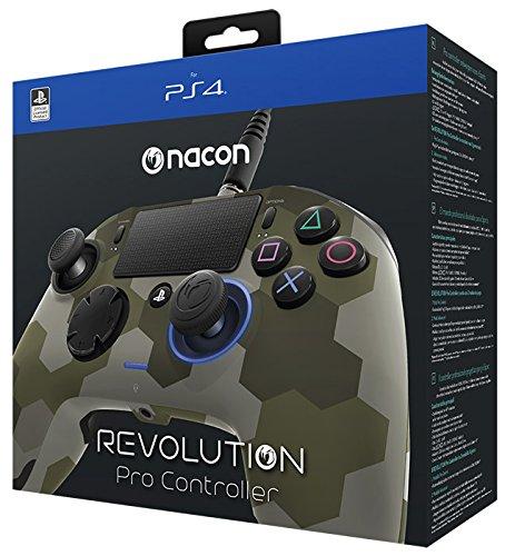 (NACON Revolution PRO Controller Gamepad Camo Green Edition PS4 Playstation 4 eSports Designed)
