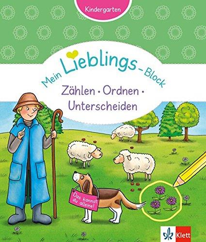 Klett Mein Lieblings-Block Zählen, Ordnen, Unterscheiden: Kindergarten ab 3 Jahren. Das kannst du alleine!