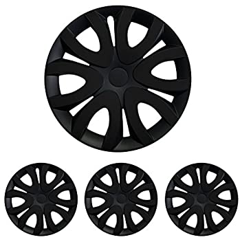 Hubcap Wheel Cover 15 Inch Black Mica 15 R15 Universal Suitable for almost all vehicles with standard steel rims Renault: Amazon.co.uk: Car & Motorbike