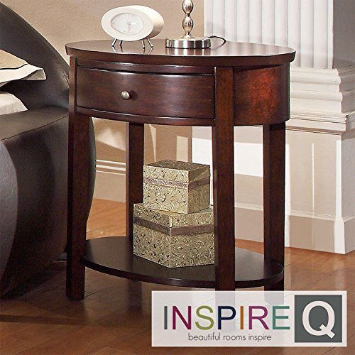 Metro Oval Dining Table (Metro Shop INSPIRE Q Fillmore Espresso Oval Wood Accent)