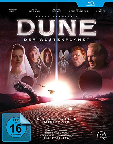 Dune - Complete Series - 2-Disc Set ( Frank Herbert's Dune (3 Parts) ) [ Blu-Ray, Reg.A/B/C Import - Germany ] -