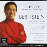 Bernstein: Suite from Candide, Five Songs, Three Meditations from Mass, Divertimento