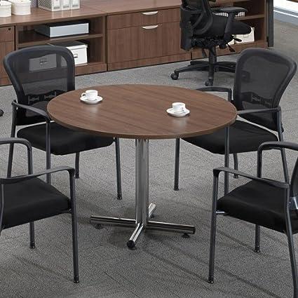 Moderno Ronda conferencia mesa y sillas Set, sala de reuniones ...