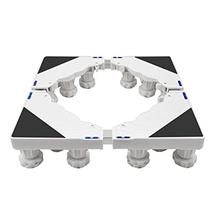 Ruedas Móvil Especial Base para Uso Doméstico Electrodomésticos Carro para Lavadora, Carro para Electrodomésticos con