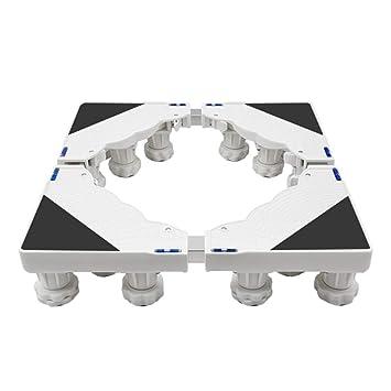 Ruedas Móvil Especial Base para Uso Doméstico Electrodomésticos Carro para Lavadora, Carro para Electrodomésticos con Ruedas Base para Refrigerador ...