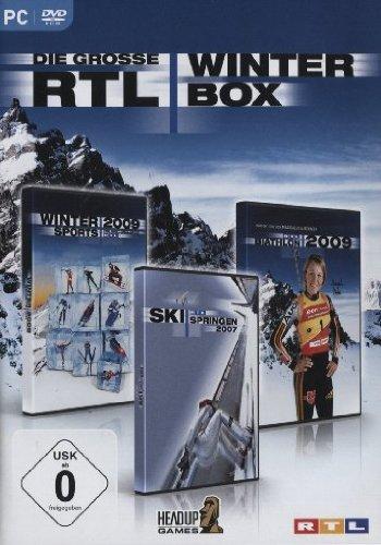 Die grosse RTL Winterbox (Wintersports 2009, Skispringen 2007, Biathlon 2009)