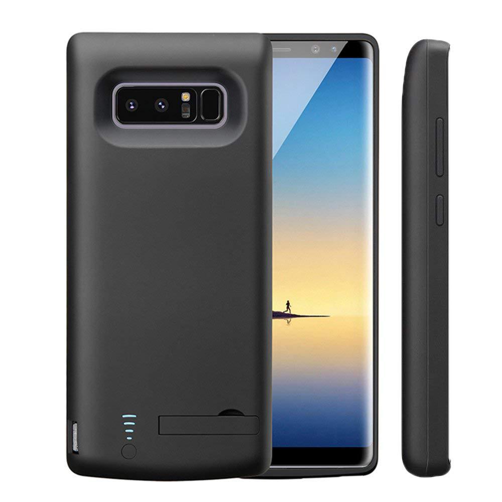Idealforce Samsung Galaxy Note 8 Caja De BateríA, 6500mah Cubierta De BateríA Externa Cargador PortáTil Carcasa De Carga Protectora Para Samsung ...