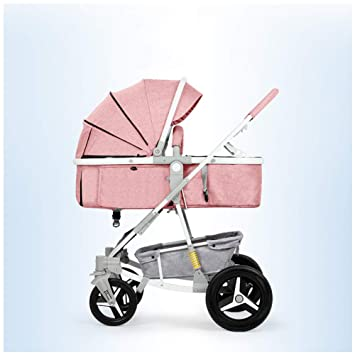 YINGH - Sillita de paseo cochecito de bebé ligero 2 en 1, Gran espacio cómodo