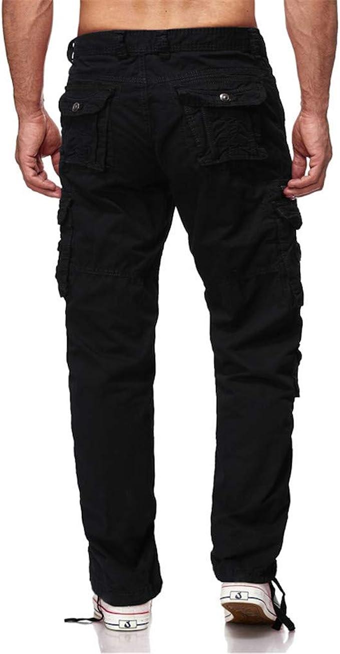 yoyorule Casual Pants Fashion Mens Sport Pocket Casual Cargo Sweatpants Drawstring Sport Shorts