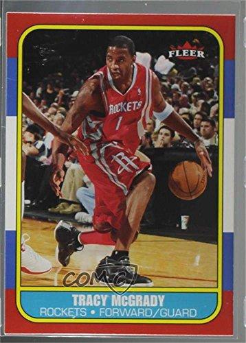 (Tracy McGrady (Basketball Card) 2006-07 Fleer - 1986-87 Fleer Design)