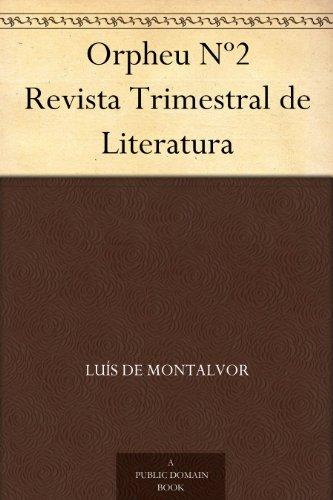 Orpheu Nº2 Revista Trimestral de Literatura (Portuguese Edition)