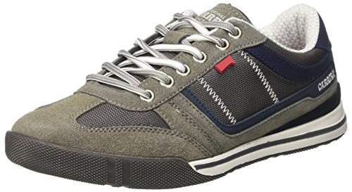Carrera Capry Mix, Baskets Homme Gris (Ash/Aster 01)