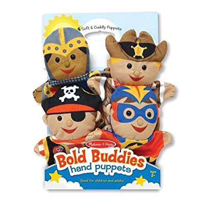 TOYSnPLAY Bold Buddies Hand Puppets: Toys & Games