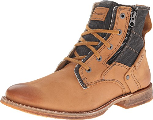 Caterpillar Mens Leather Delve Boots