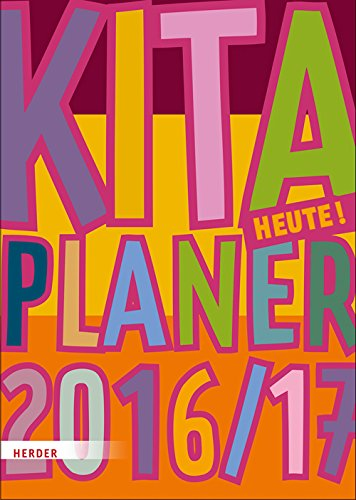Planificador Kita Hoy 2016 - 2017 - Guardería de agenda A4 ...