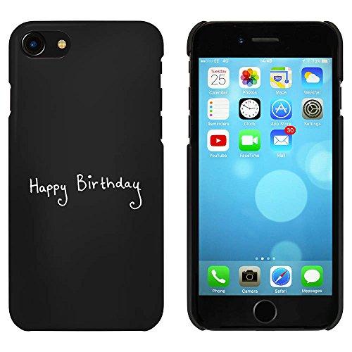 Noir 'Bon Anniversaire' étui / housse pour iPhone 7 (MC00058567)