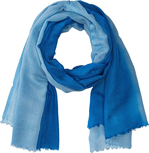 Love Quotes Women's Travel Weight Cashmere Dip-Dye Scarf Mosaic/Calm One Size