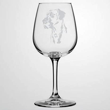 Amazon Com Great Dane Dog Wine Glass Hand Blown Printed Wine Glasses For Housewarming Perfect For Wedding Party Birthday Anniversary 17oz Wine Glasses