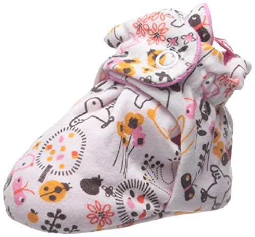 Zutano Baby Cotton Bootie, Folktale, 18 Months (Zutano Socks Girls)