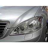 Euromeister 70220080 Mercedes 221 Chassis Chrome Headlight Rings