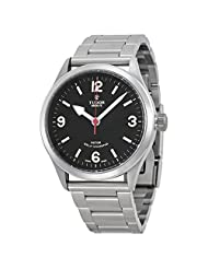 Tudor Heritage Ranger Black Dial Stainless Steel Mens Watch 79910-BKASSS