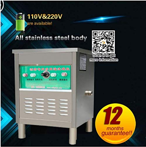 T. Z. CommercialDishwasher ultrasonic restaurant dishes Washing machine crayfish washing machine canteen brush machine small hotel Dish washer (220V/50HZ, model 60) ()