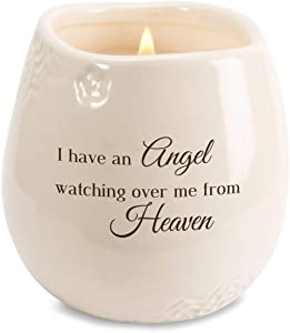 Pavilion - I Have an Angel Watching Over Me from Heaven 8 oz Soy Filled Ceramic Vessel Candle