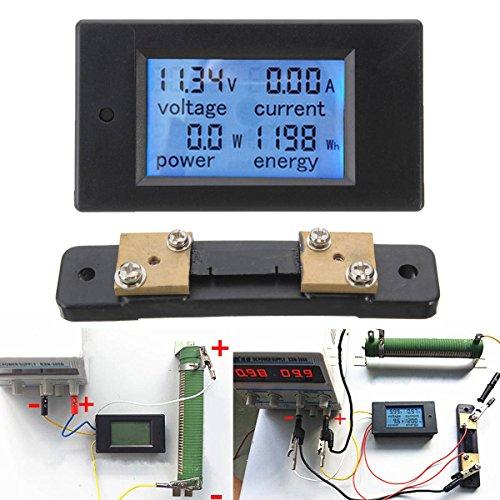 Drillpro 50a Dc 6 5 100v Display Digital Current Voltage