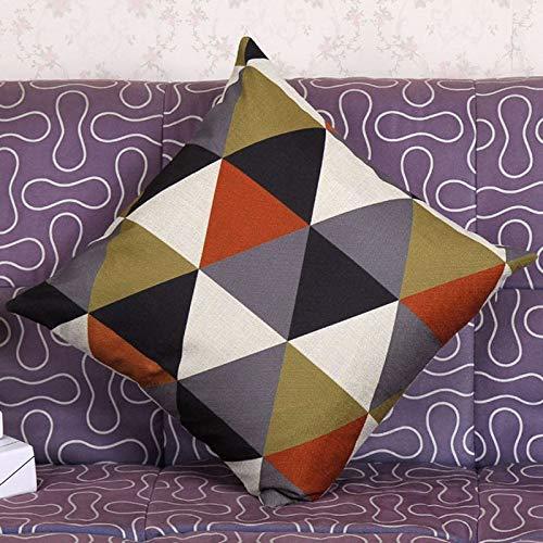 YWLINK 1PC Nuevo cojín geométrico Cubre Almohadas ...