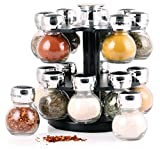 Orii Gourmet 16 Jar Spice Rack Set GSR2020