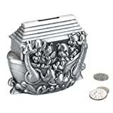 Lillian Rose Pewter Bank, Noah's Ark, 4.5""