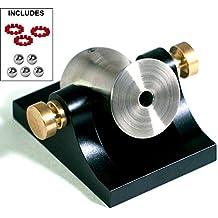 Pocket Artillery Mini Cannon - Black w/ Brass Hardware - Includes Accessories