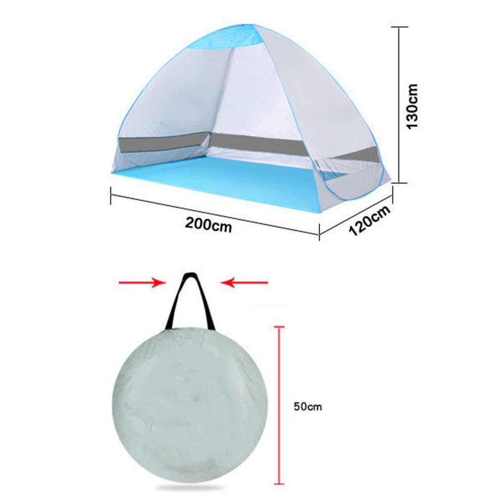 bel/üftet und langlebig CRZJ Baby Beach Zelt Tragbare Sonnenschutz f/ür Babys mit UV-Schutz