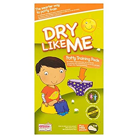 Dry Like Me Early Days Potty//Toilet Training Pads