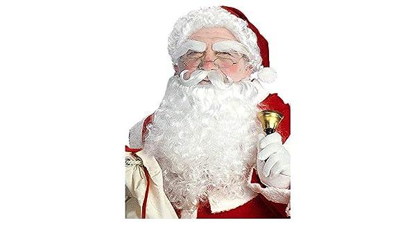 Luxury Santa Wig Widmann E1534 Beard and Eyebrows