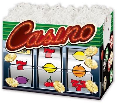 (Casino Gift Basket Boxes, 6 3/4 x 4 x 5