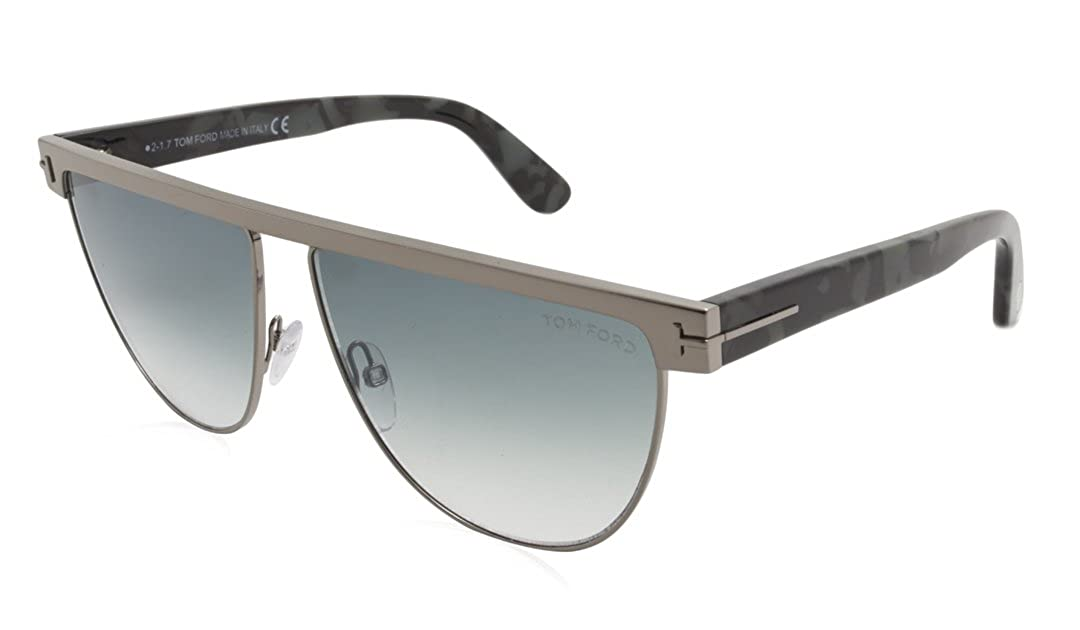 b70a6c12d63 Tom Ford TF570 Stephanie-02 Sunglasses Color 14X Gunmetal Size 60mm at  Amazon Men s Clothing store
