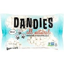 Dandies - Minis - Vegan Marshmallows, Vanilla, 10 Ounce (Pack of 2)