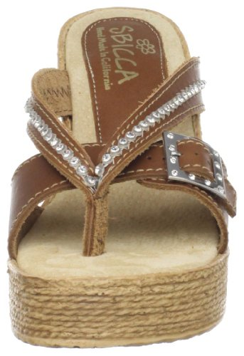 Sbicca Light Brown Wedge Horizon Women's Sandal 1R1rza