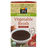 365 Everyday Value Organic Vegetable Broth Low Sodium, 32 oz