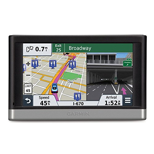 Garmin nuvi 2599LMTHD Case Bundle Includes: nuvi 2599LMTHD Advanced Series 5″ GPS Navigation System with Bluetooth, Lifetime Maps, & HD Digital Traffic, and Garmin Nuvi 5 inch Protect, Stow and Carry Case For Sale
