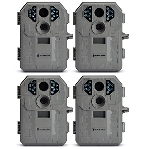 Stealth Cam STC-P12 6.0 Megapixel Digital Scouting Camera (Tree Bark, Right) -- Four Pack